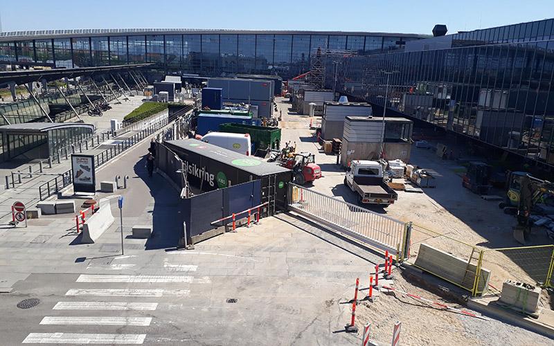 Mobile Gate at Copenhagen Airport