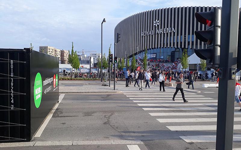 Mobile Gate at Royal Arena, Copenhagen