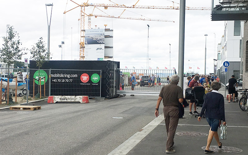 Mobile Gate at the 2018 Sailing World Cup